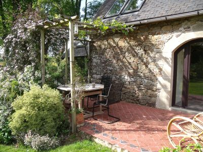 Photo for 1BR Cottage Vacation Rental in Nivillac, Bretagne