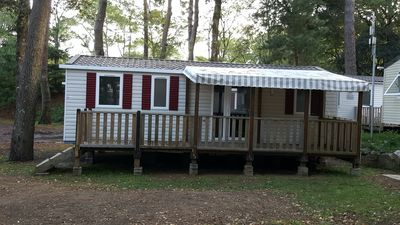 Photo for Mobile home New 3 rooms any comfort / Washing machine / 300m beach