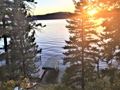 Photo for Priest Lake Eastside Cabin with Awesome Views!