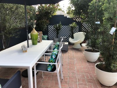 Photo for Cozy Beach Bungalow - Newly Remodeled! - Outdoor Dining and AC