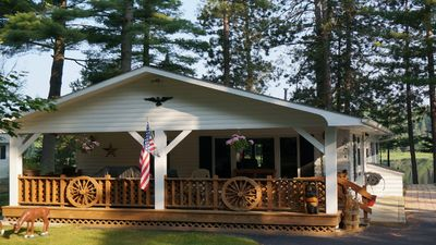 Photo for Cranberry Pines private vacation home on beautiful Cranberry Lake