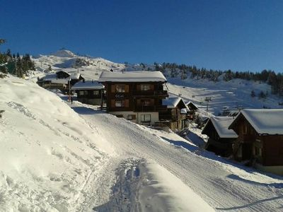Photo for One bedroom Apartment, sleeps 2 in Bettmeralp
