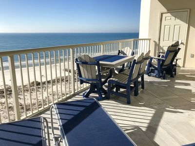 Photo for Beach Club-Gulf Front-Spectacular View-Clean Duvet Every Guest-Just Updated