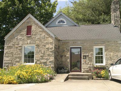 """Ron & Orline's Home, park at the door. Bardstown the """"Heart of Bourbon Country"""""""