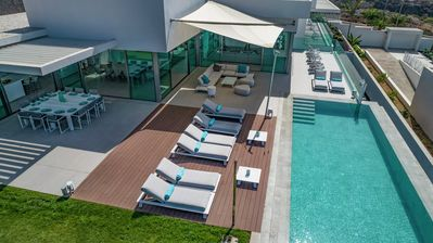 Photo for Modern masterpiece villa with large terrace
