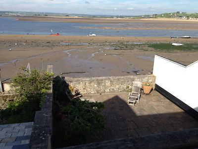 Photo for House right on Estuary, at Appledore, Devon, Shops, Pubs, Playground all close