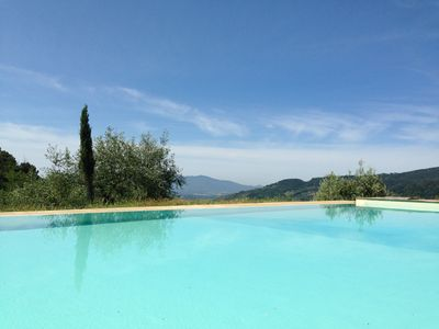 Photo for Eco-friendly detached spacious family house with splendid view in Tuscany