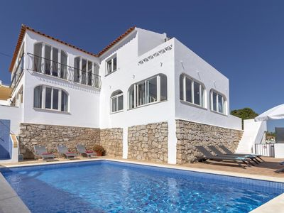 Photo for Villa James, Ocean Views, Heart of Village, 7 Bedroom, Sleeps 14, Air-con, Pool & BBQ