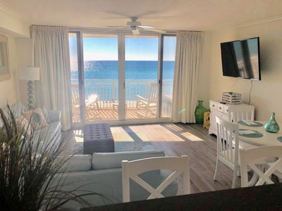 Photo for Flash Sale for July/4 Free Beach Chairs Right on the beach/VERY NEAR Pier Park!