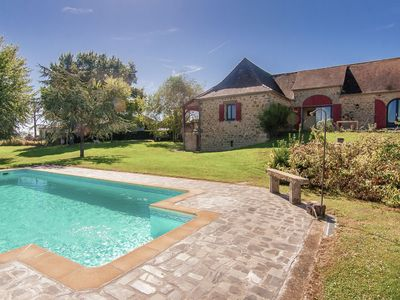 Photo for Large family home with pool, large garden and panoramic views.