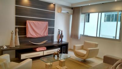 Photo for Rent apartment in Guarujá Pitangueiras beach for weekends and holidays