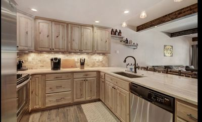 Gorgeous Kitchen upgraded with the highest of quality materials.