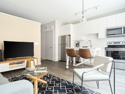 Photo for Sonder | Luna Apartments | Airy 1BR + Rooftop