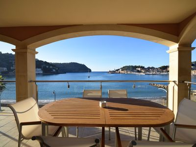 Photo for Beautiful apartment in exclusive location in Port de Sóller for rent