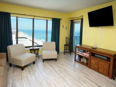 Photo for Palace Resort 1808, Lovely 2 BR Ocean View Condo with Outside Swimming Pool and Indoor/Outdoor Hot Tubs