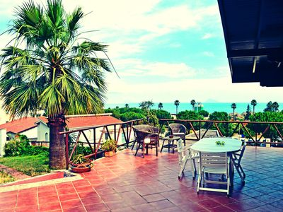 Photo for Cute villa for rent in Capo d'Orlando, about 100 meters from the sea and the port
