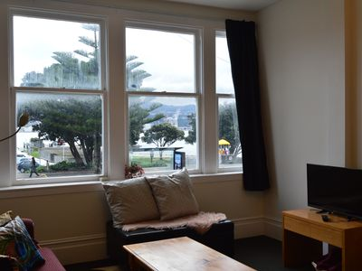 Photo for Great Location The Bay House is locate opposite the beach and is only a