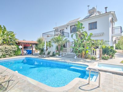 Photo for Villa Kyriakos - Detached Luxury Villa With Private Pool, Jacuzzi Spa, Gardens