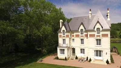 Photo for THE VILLA L. - MANOR NORMAND OF 500 m2 IN A PARK TREES 2HA - 8 BEDROOMS