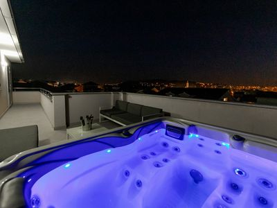 Photo for Lux penthouse with jacuzzi, close old town