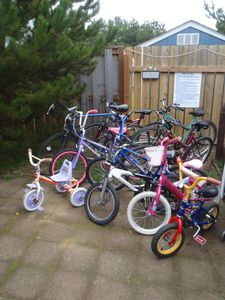 Our collection of bikes yours to use no extra charge