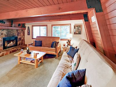Photo for Whispering Forest 3BR w/ Private Deck & Big Fenced Yard - Near Skiing & Lake