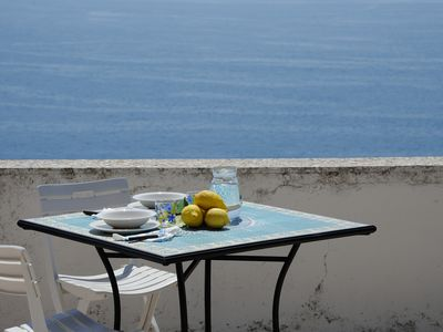 Photo for Casa Linda with terrace and sea view at Amalfi and suitable for couples or families