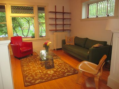 Photo for Large, sunny 3 bedroom. Walk to the University of Minnesota. 2 blocks from train