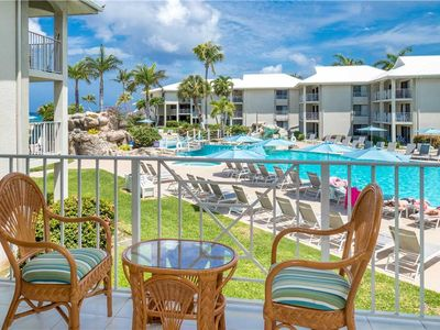 Photo for Swim, Relax & Repeat! - Poolside unit at Sunset Cove on Seven Mile Beach (Sleeps up to 5)