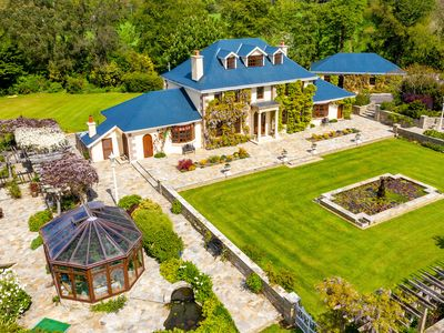 Photo for Georgian Estate with PRIVATE golf course in Ireland