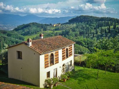 Photo for Agli Orti - One of a kind in Lucca. Countryhouse with stunning view. WIFI, Pool