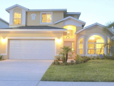 Photo for Beautiful home 5br, for 12p, w/ pool near Disney