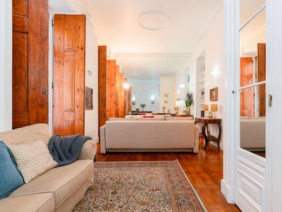 Photo for Bright & beautiful 1bed in downtown Lisbon
