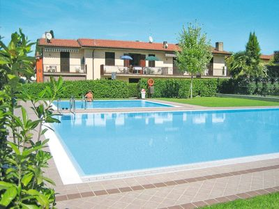 Photo for Lazise Apartment, Sleeps 3 with Pool