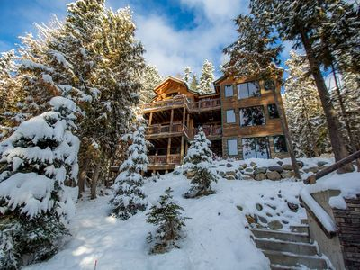 Photo for 5 BD 4 BA Ptarmigan home w/ gorgeous mountain views! Private Hot Tub! Sleeps 10!
