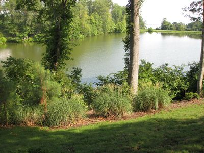 This is a nearby picture of Warhams Pond which is also seen from my balcony