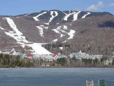 "Photo for Ski/Golf/Ironman/Relaxing chalet directly on La Bete - ""Royal Tremblant"""
