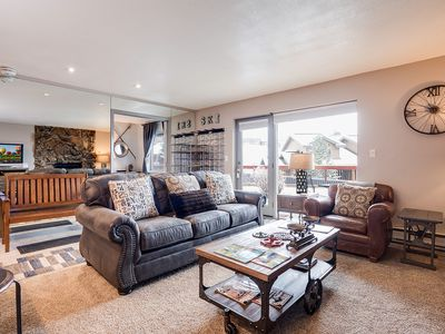 Photo for SKI To Your Door!  Affordable Mountain Luxury. Ground Level. Bring your Family!