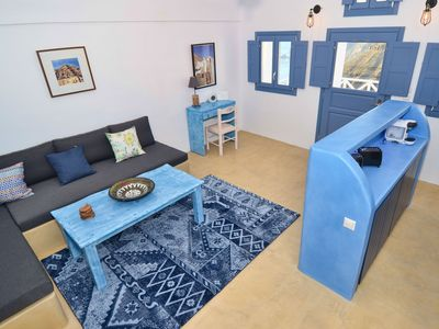 Photo for Fira Blue House in the real heart of Fira, Two Bedroom Private House