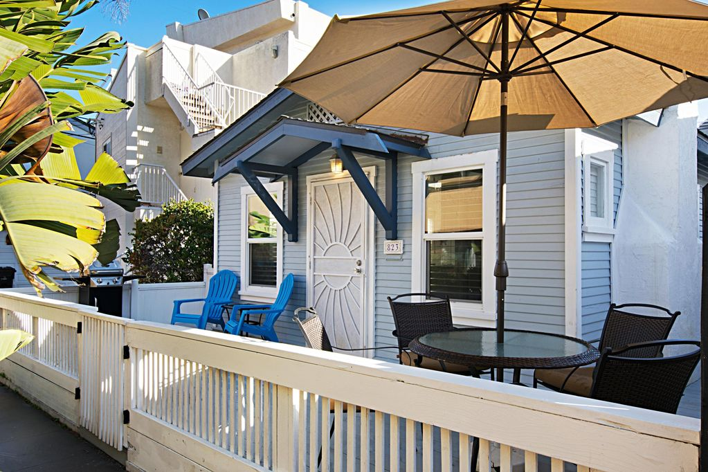 adorable mission beach cottage footsteps to the sand mission rh homeaway co uk the beach cottages pacific beach california