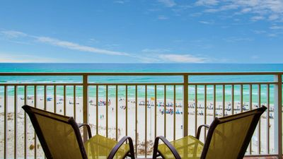 Photo for New Owner. Beachfront Condo with Great Ocean Views.