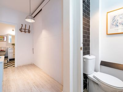 Photo for Central Apartment Directly with a Balcony, Air Conditioning and Wi-Fi, One Pet Allowed