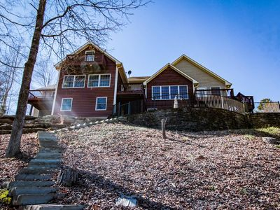 Photo for Sunsets and Siestas - lakehouse on beautiful Lake Keowee