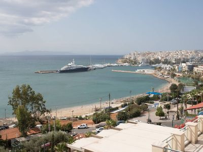 Photo for Incredible beauty in Kastella, Pireas with stunning views of the sea and port