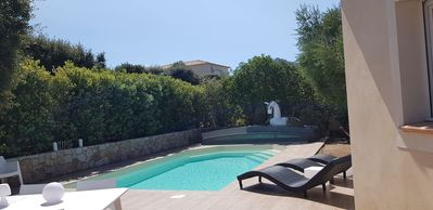 Photo for Beautiful family villa with pool 8 people