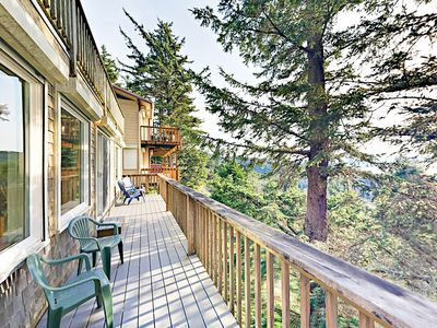 Deck - Welcome to Oceanside! Your hillside retreat is professionally managed by TurnKey Vacation Rentals.