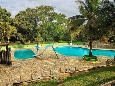 Photo for Site in São Gonçalo with 3 swimming pools, 2 soccer fields and lots of green area!
