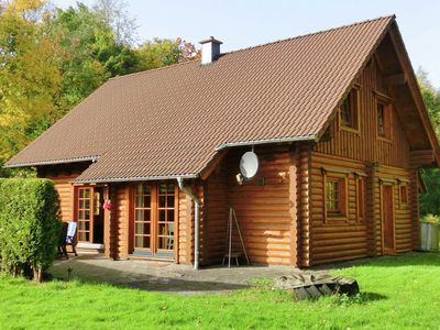 Photo for Spacious wooden house in the Westerwald with soapstone stove