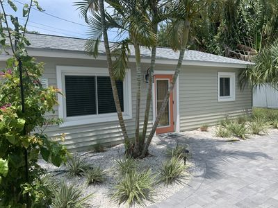 "Photo for Beachy Keen Cottage ""B""!  Just Steps From Indian Rocks Beach!"
