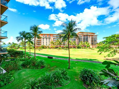 Photo for K B M Hawaii: Ocean Views, Family friendly 1 Bedroom, FREE car! Jul & Oct Specials From only $229!